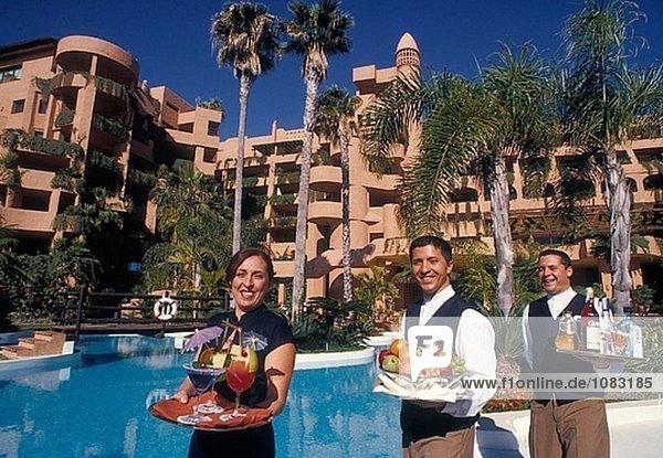 Im Kempinski Hotel. Estepona. Costa Del Sol  Málaga Provinz. Spanien