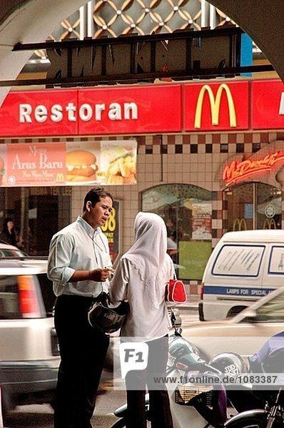 Innenstadt Kuala Lumpur. Malaysien