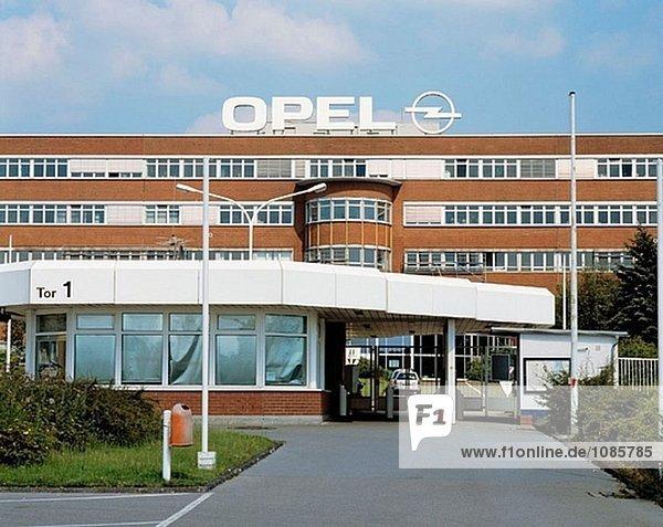 Deutschland  Nordrhein-Westfalen  Bochum  Opel-Fabrik