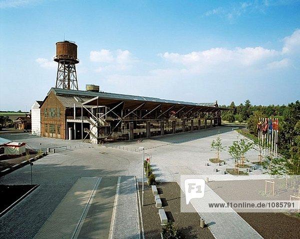 Deutschland  Nordrhein-Westfalen  Bochum  Jahrhunderthalle (ehemalige Stahlindustrie)
