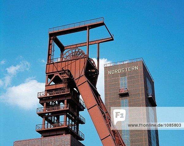 Deutschland  Nordrhein-Westfalen  Gelsenkirchen  Nordsternpark (ehemaliger Kohlenmine)