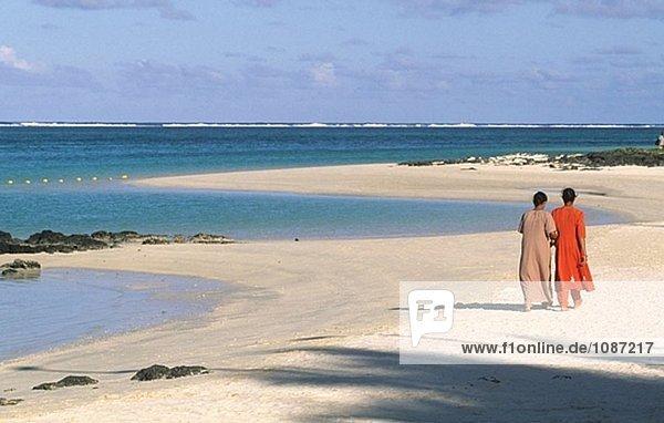Hotel Ambre Strand. Pointe Aux Boeufs. Ostküste. Mauritius