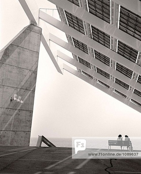 Photovoltaik Pergola  Forum 2004. Barcelona. Spanien