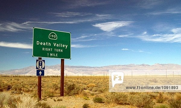 Death-Valley-Zeichen  California