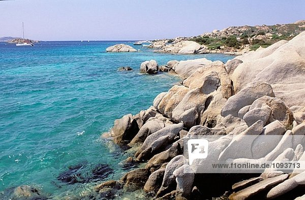 Maddalena Insel-Maddalena-Archipel - International Marin Park von ´Bouches de Bonifacio´ - Sardinien - Italien