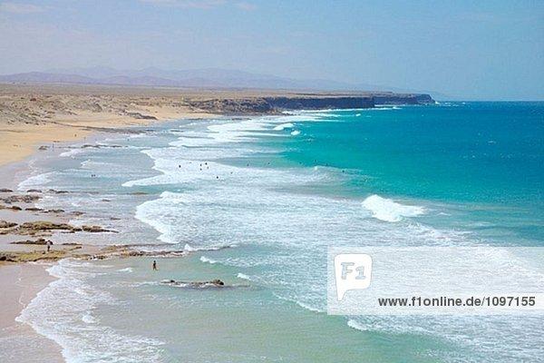 Castillo Beach. El Cotillo. Fuerteventura. Kanarischen Inseln. Spanien