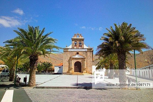 Einsiedelei von der Virgen De La Pena. Vega de Rio Palma. Fuerteventura. Kanarischen Inseln. Spanien