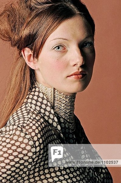 Bild der jungen Frau