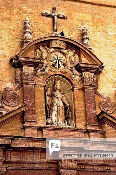 Detail Details Ausschnitt Ausschnitte Tür Palast Schloß Schlösser Andalusien Spanien