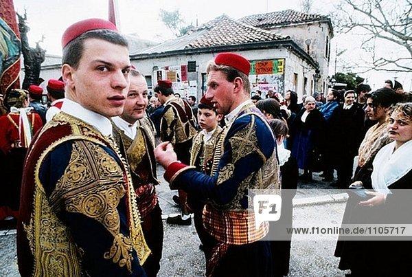 Römisch-katholische St. Blaise´s Feier. Dubrovnik. Kroatien
