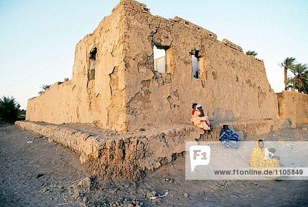 Oase der Sesibi  der XVIII-Dynastie gegründet Sesibi markiert die südlichste Insel der Reihe von großen neuen Reich Zentren im unteren und mittleren Nubien. Sudan.