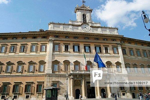 Palazzo di Montecitorio  italienische Representative´s Kammer. Piazza Montecitorio. Rom. Italien
