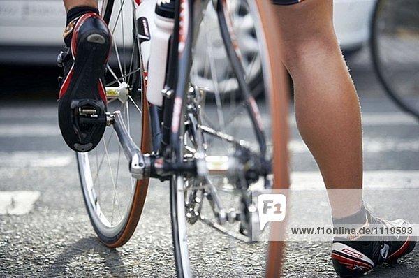 Road Bike  Vorbereitung vor dem Wettkampf