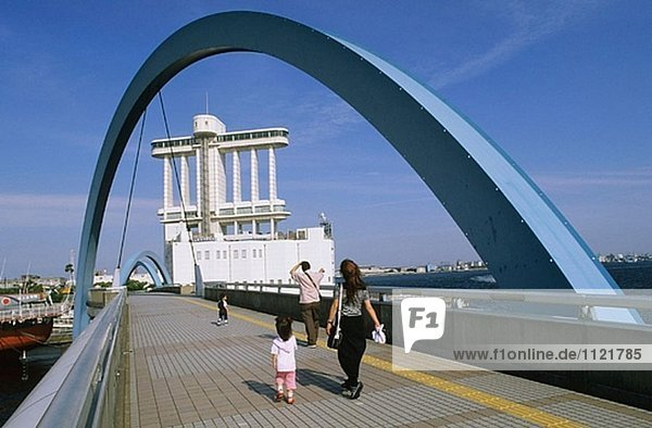 Hafenbereich. Nagoya. Kansai. Japan.
