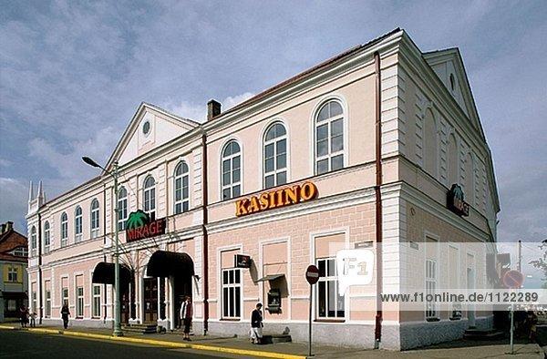 Altstadt. Pärnu. Estland.