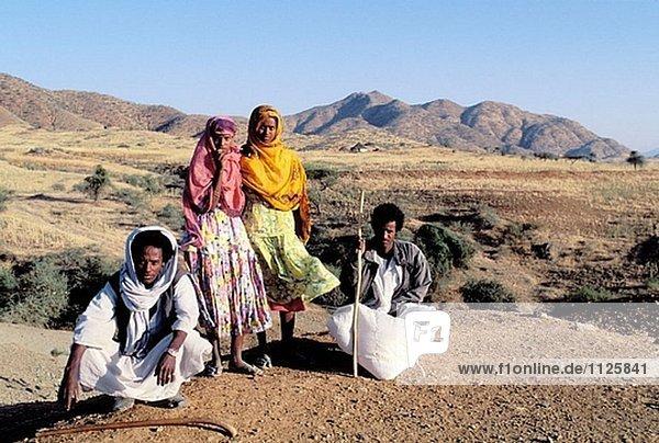 Billen ethnische Gruppe. Keren. Eritrea