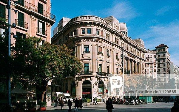Plaça De La Catedral. Barcelona. Catalonia. Spanien