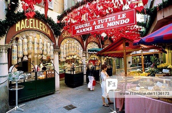 Markt. Lugano  Schweiz