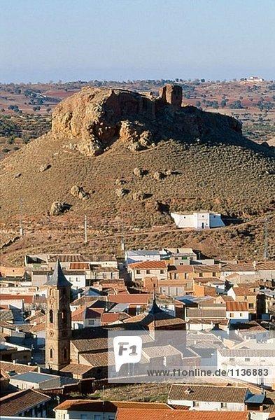 Montiel  Campo de Montiel. Provinz Ciudad Real  Kastilien-La Mancha. Spanien