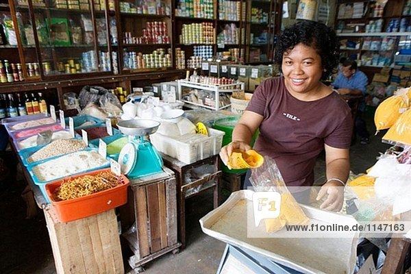 Chinatown  Kuching. Sarawak (Borneo)  Malaysia