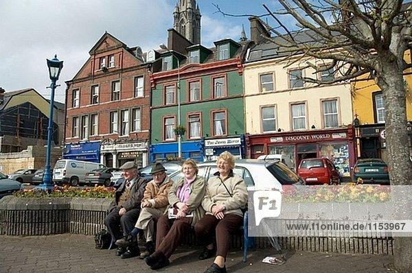 Großstadt Korken Cobh Irland alt Queenstown
