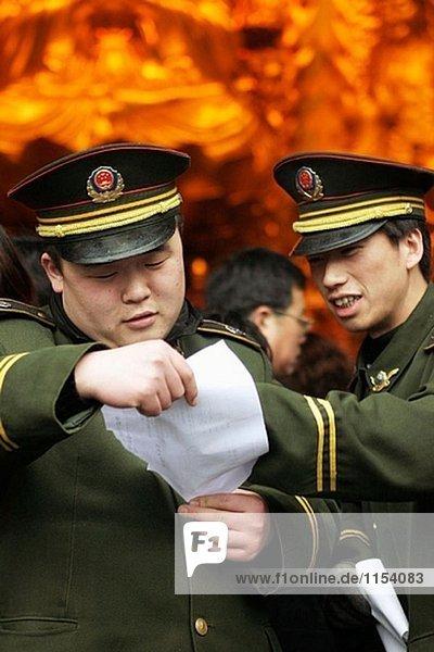 Soldaten  China