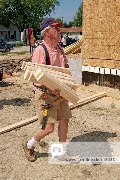 Vereinigte Staaten von Amerika USA bauen Hafen Wohnhaus Nachbarschaft Lebensraum Huronsee Lake Huron Mensch 10 Michigan neu
