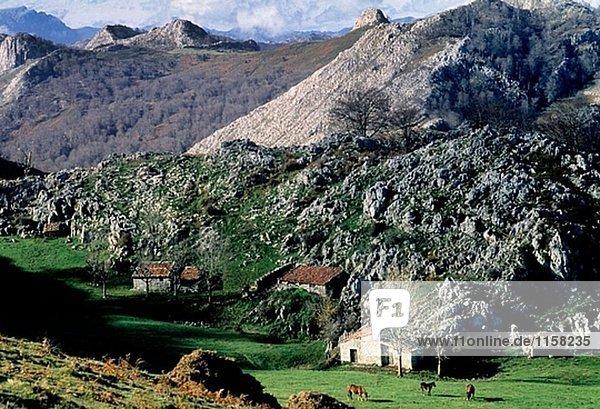 Berg Europa Spanien