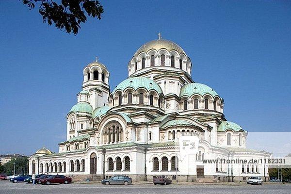 St. Alexander Newski-Kathedrale (1882 – 1912)  Sofia. Bulgarien