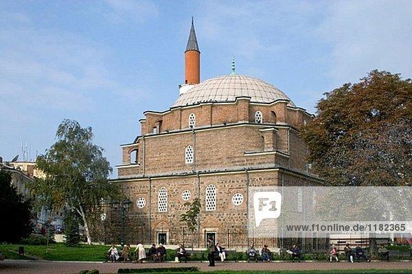 Banya Bashi Moschee (1576)  Sofia. Bulgarien