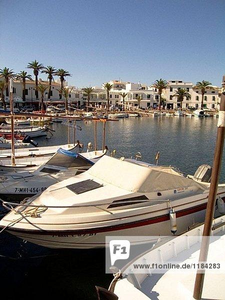 Fishertown of Fornells. Menorca. Balearic Islands. Spain.