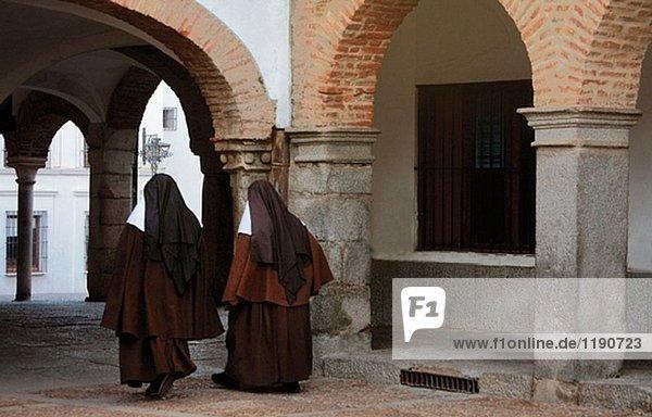 From Plaza Grande to Plaza Chica  at Zafra. Badajoz province. Spain.