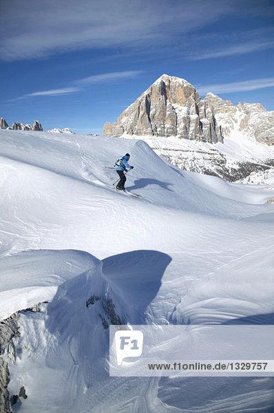 Italien  Dolomiten  Skifahren für Frauen