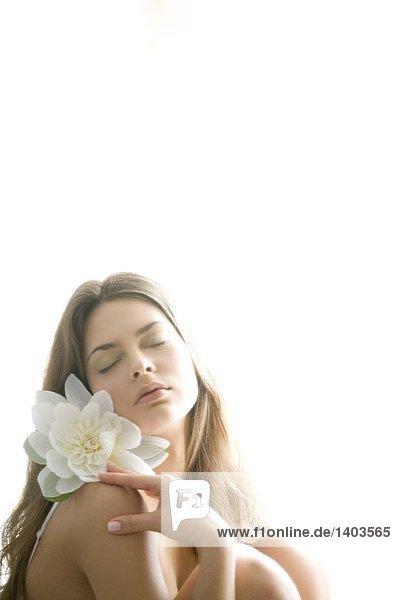 Frau Blume Beauty Frau,Blume,Beauty