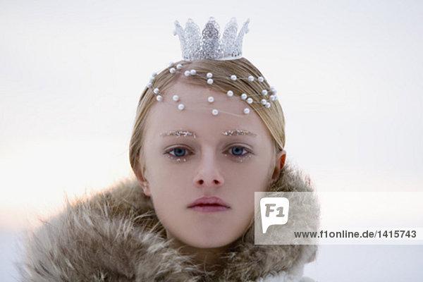 headshot of snow queen
