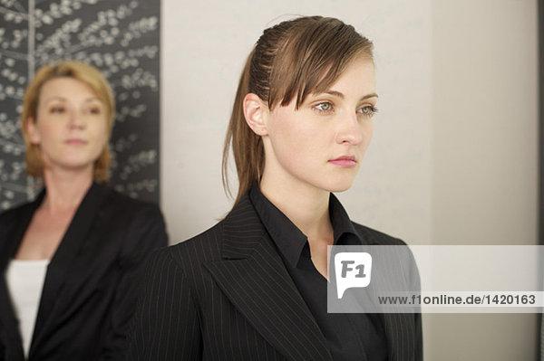 Two self-confident businesswomen