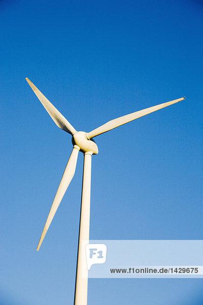 Windkraftanlage  Nahaufnahme