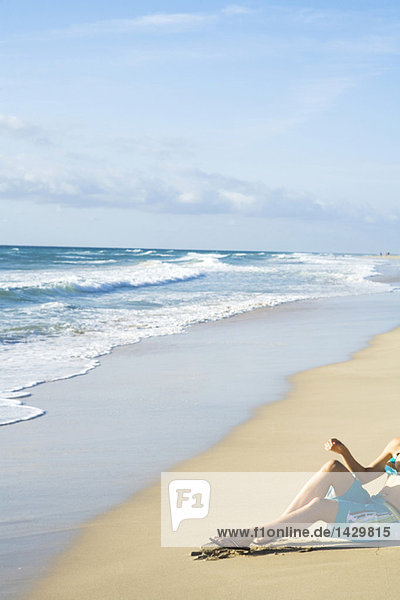 Spain  Fuerteventura  heavenly beach