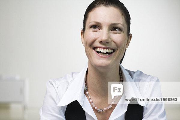 Portrait einer Geschäftsfrau.