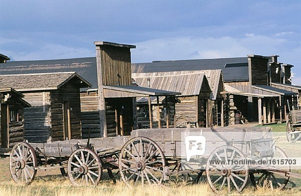 Vereinigte Staaten von Amerika USA folgen Stadt alt Wyoming