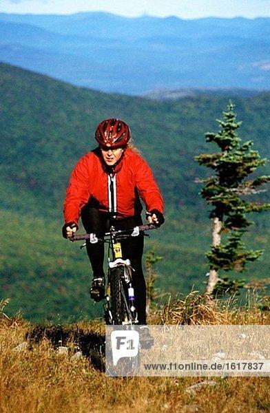 Mountainbike. Maine. USA