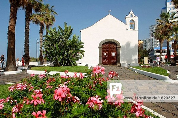 Kirche San Telmo. Puerto De La Cruz. Teneriffa. Kanarischen Inseln. Spanien
