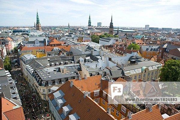 Luftbild von Stadtzentrum