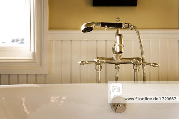 Fancy Bathtub Faucet and Shower Head