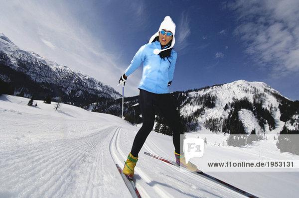 Skilanglauf für Frauen  Tiefblick