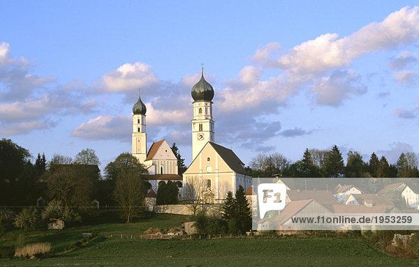 Germany  Bavaria  church of pilgrimage Haindling