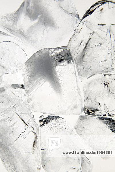 Eiswürfel  Nahaufnahme