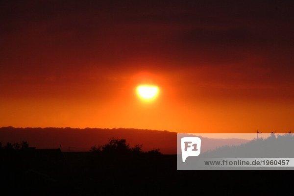 Rote Morgenröte