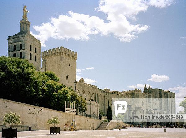 Palais des Papes  Avignon  Frankreich