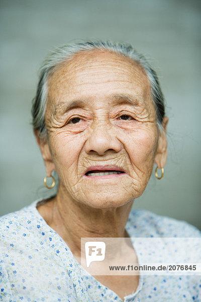 Ältere Frau  portrait